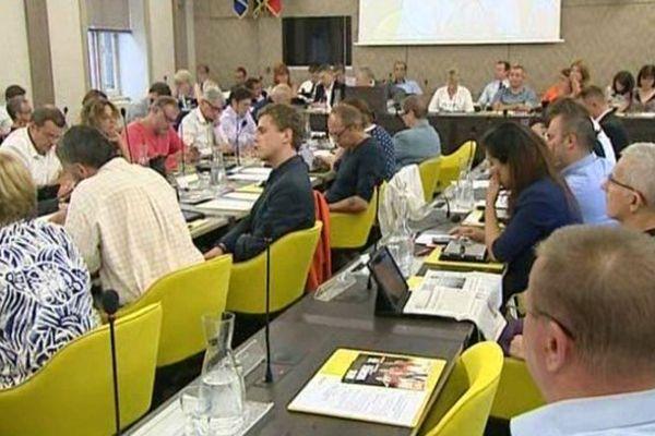 Le Conseil municipal de Besançon, ce jeudi 18 juin