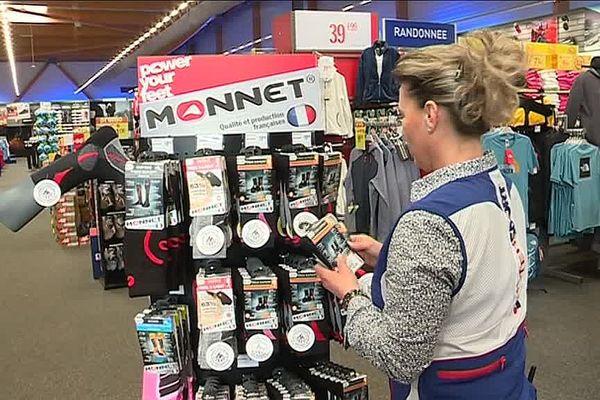 Les chaussettes Monnet, conçues et fabriquées à Montceau-les-Mines, sont plébiscitées par les sportifs du monde entier.