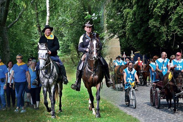 Cavaliers, randonneurs, amateurs de vélo et d'attelage pourront parcourir la Route d'Artagnan.