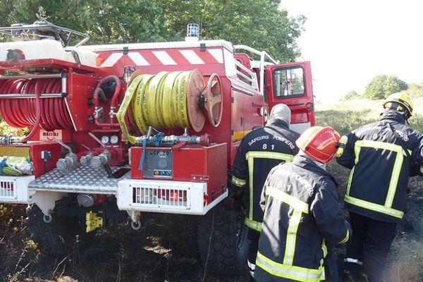 Près de 90 pompiers ont été engagés