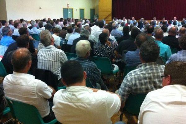 Le 28 août, à Saint-Gonnery (22), 200 acteurs du monde économique avaient voté à l'unanimité la révolte bretonne contre l'écotaxe
