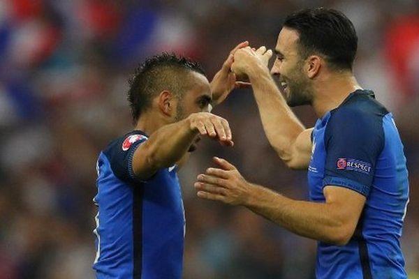 Payet et Rami, ce mercredi soir à Marseille lors de France-Albanie.