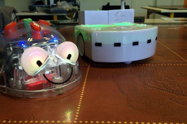 Les petits robots font leur entrée au collège avec une initiation à la programmation dans le cadre de la fête de la science.