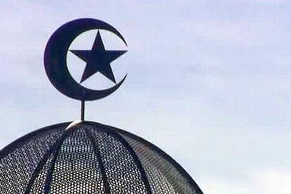 Le toit de la mosquée de Perpignan - archives