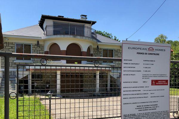 Une quinzaine de permis de construire sont actuellement recensés à Gournay-sur-Marne.