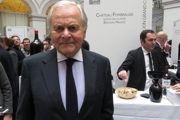 Bernard Magrez, ici lors de Bordeaux Tasting 2019, est favorable à l'initiative de son ami François Pinault