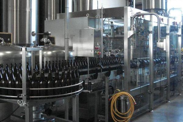 Dans l'usine à bières ...