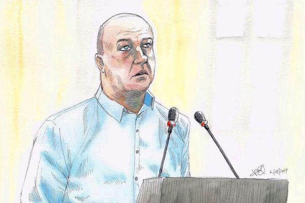 Willy Bardon lors de son procès, le 4 décembre 2019