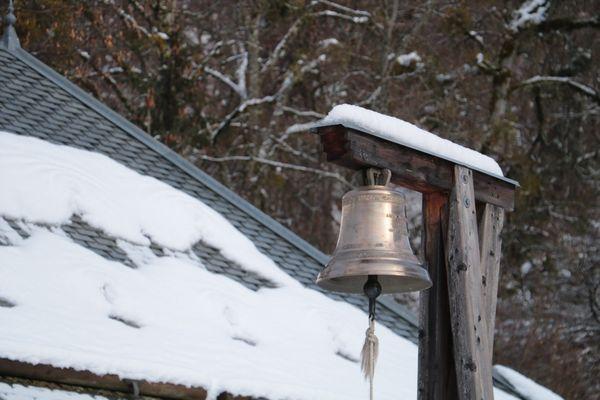 La cloche a été coulée par la célèbre Fonderie Paccard