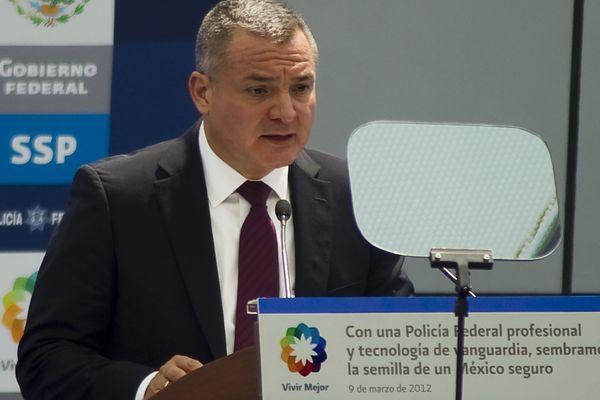 Genaro Garcia Luna, en 2012