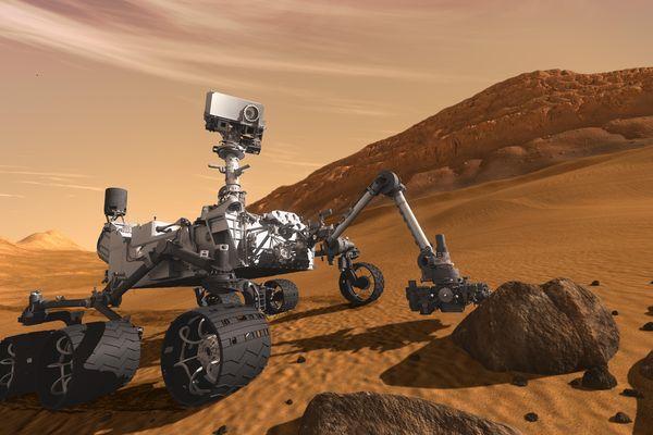 """L'épopée du robot Curiosity, sur la planète Mars. C'est le thème de l'une des conférences du """"TEDx"""" 2017 de Belfort"""