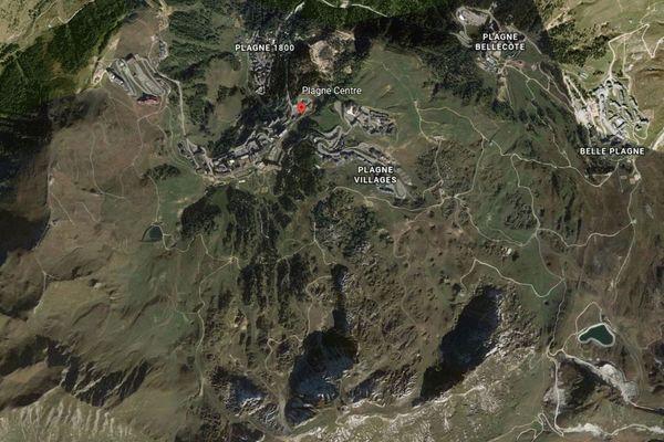 Le tracé de la télécabine du Yéti déplaît à un collectif d'habitants de La Plagne.