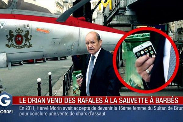 Jean-Yves Le Drian épinglé avec humour par Le Gorafi