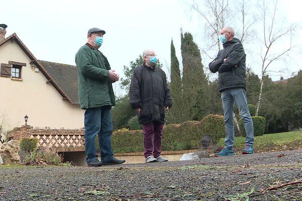 Contournement Est de Rouen : 4 maisons sont sur le tracé du projet, aux Authieux.