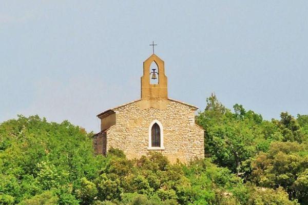 Une des chapelles de Ginasservis.
