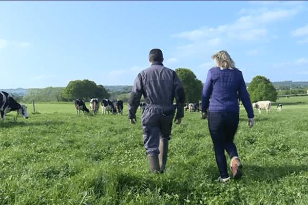 A Maure de Bretagne, la ferme bio d'Ana-Soiz produit du lait qu'elle transforme sur place.