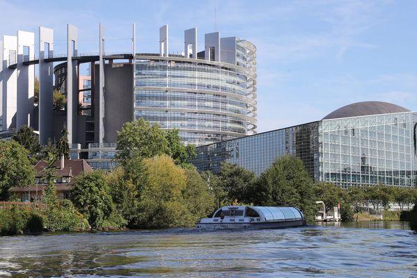 Siège du Parlement européen à Strasbourg