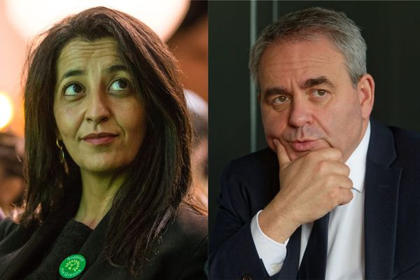 Karima Delli et Xavier Bertrand