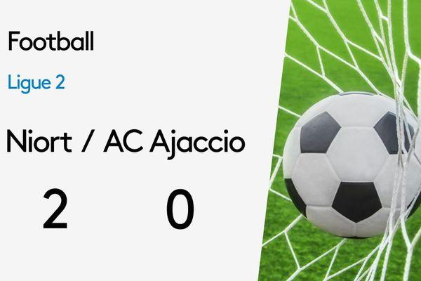 Victoire des Chamois niortais face à Ajaccio