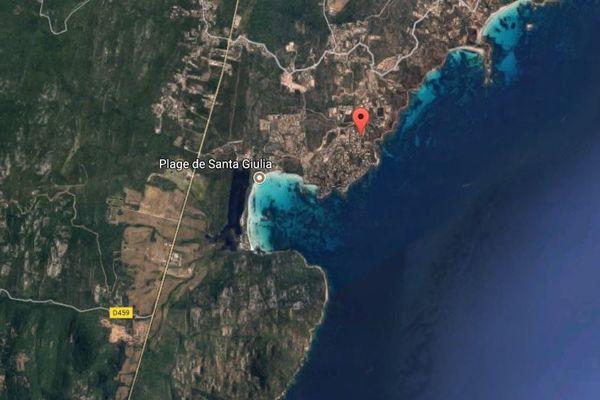 Le lieu-dit Punta d'Oro, à Porto-Vecchio