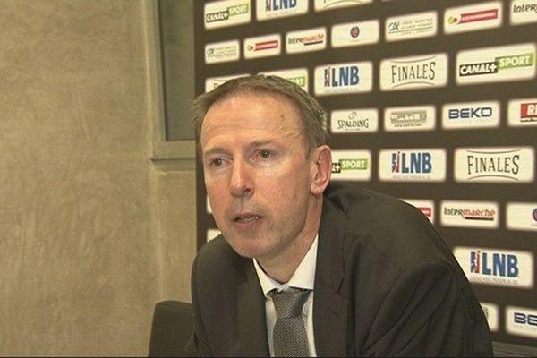 Vincent Collet nous avait répondu à Beaublanc après la victoire de Limoges face à Strasbourg.