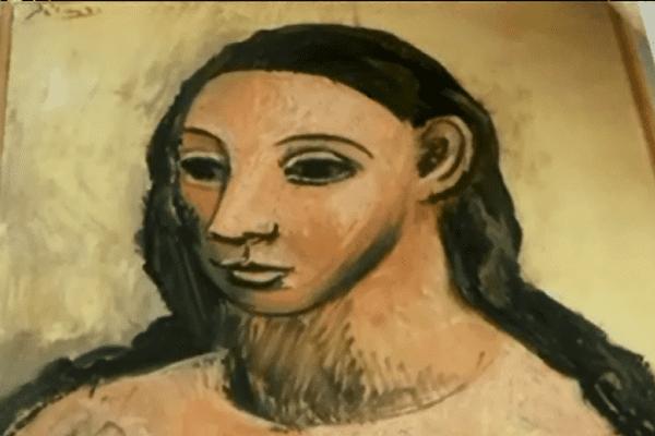 """L'oeuvre de Picasso """"Tête de jeune fille"""" a été saisie en Corse cet été."""