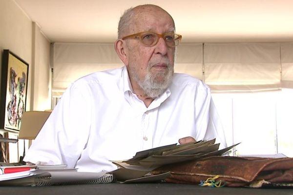 Joseph Schwartz a échappé de peu à la rafle du Vel' d'Hiv' en juillet 1942.