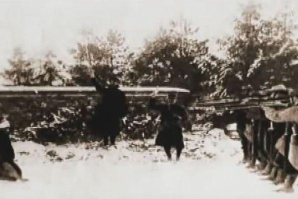 Six jeunes corses, soldats de l'armée française durant la Première Guerre mondiale, ont été fusillés pour l'exemple.