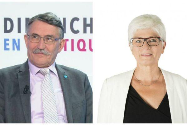 Les deux candidats du FN, Mylène Wunsch (Indre) et Michel Chassier (Loir-et-Cher) n'ont pas réussi à se faire élire dans leur circonscription.