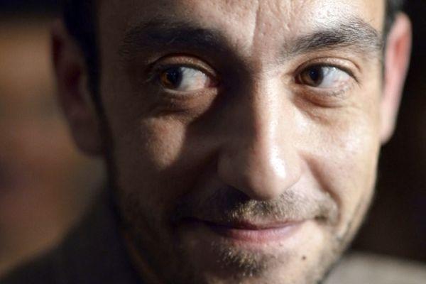 """L'écrivain Jérôme Ferrari, 44 ans, Prix Goncourt 2012 """"Le Sermon sur la Chute de Rome"""""""