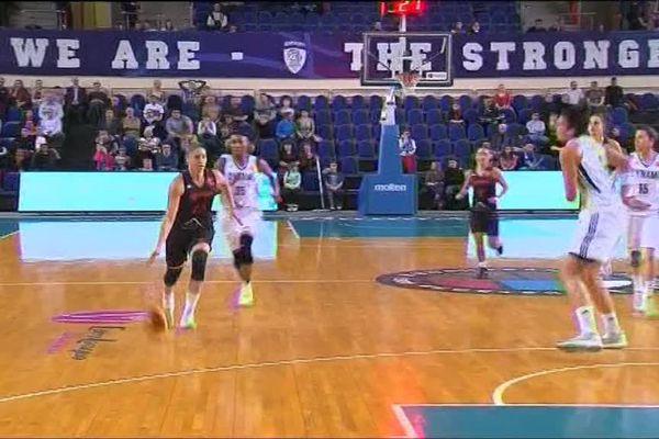 Les filles du Tango Bourges Basket héroïques face à Koursk