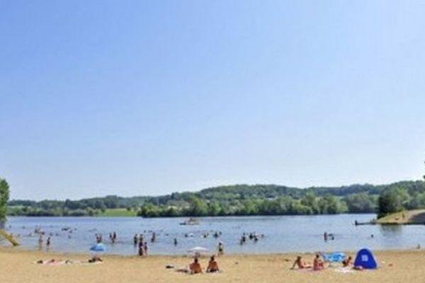 Lac du Coiroux, Aubazine