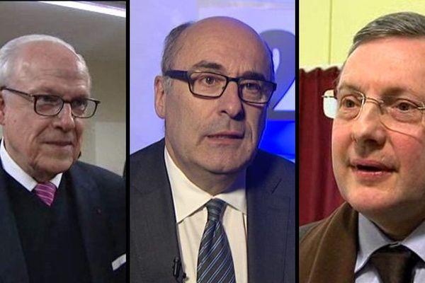 Alain Lambert dans l'Orne, Jean-Léonce Dupont dans le Calvados et Philippe Bas dans la Manche