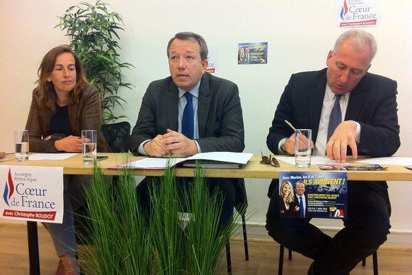 Christophe Boudot  avec Sylvie Robert et Charles Perrot