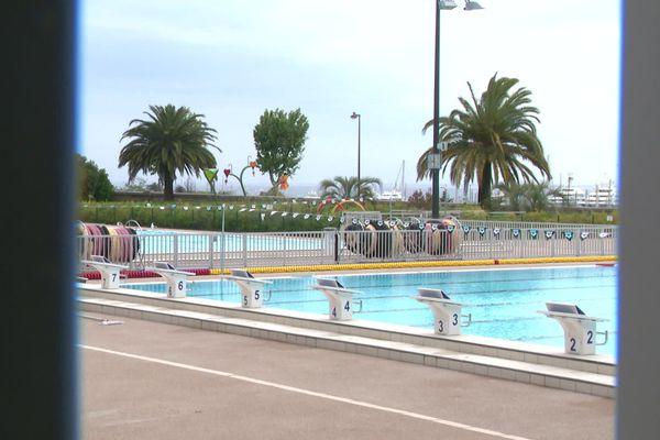 La piscine du cercle des nageurs d'Antibes.