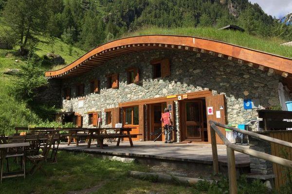 Le refuge de Rosuel dans le Parc national de la Vanoise.
