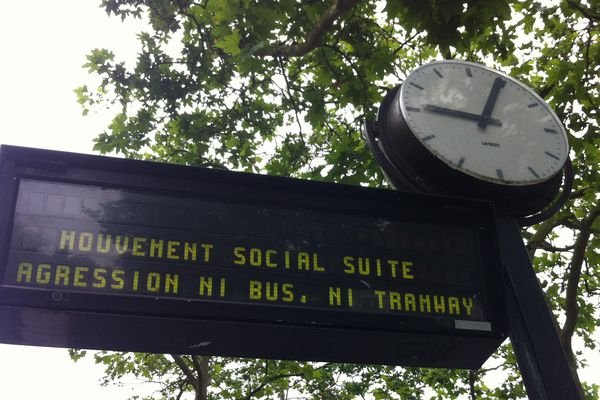 Ni bus, ni tram à Nantes ce lundi 20 juin 2016