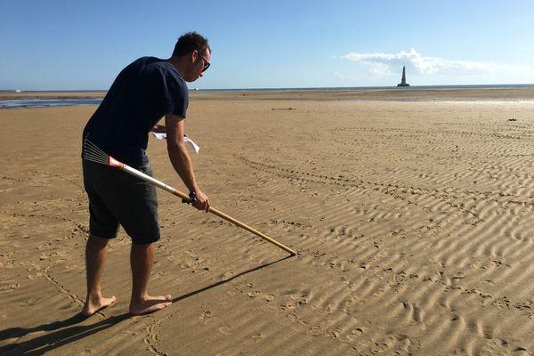 JBen dessine sur les plages, pour lui, pour les autres.