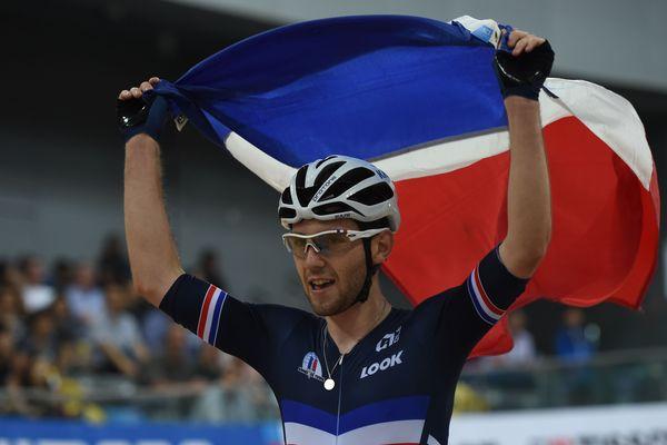 Le Berrichon Benjamin Thomas remporte son premier titre majeur lors des championnats du monde de cyclisme sur piste à Hong Kong