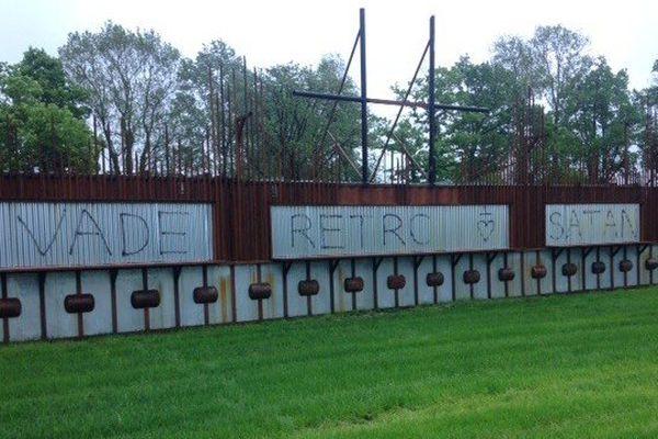 Le site du Hellfest a été vandalisé dans la nuit du samedi 2 au dimanche 3 mai 2015