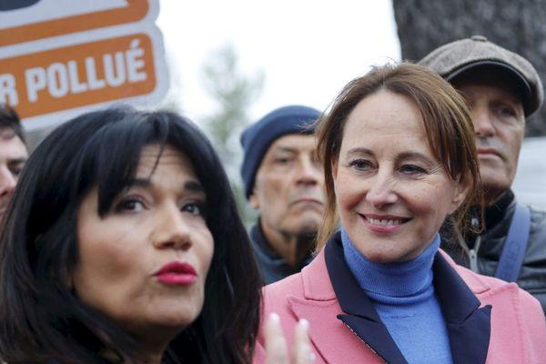 Ségolène Royal est venue apporter son soutien à la candidate Samia Ghali (ex-PS) à la mairie de Marseille.