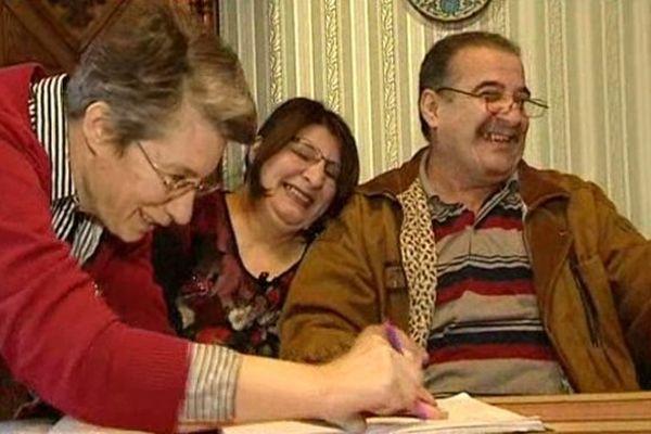Depuis quelques mois, cette famille est accueillie dans la région chez des particuliers.
