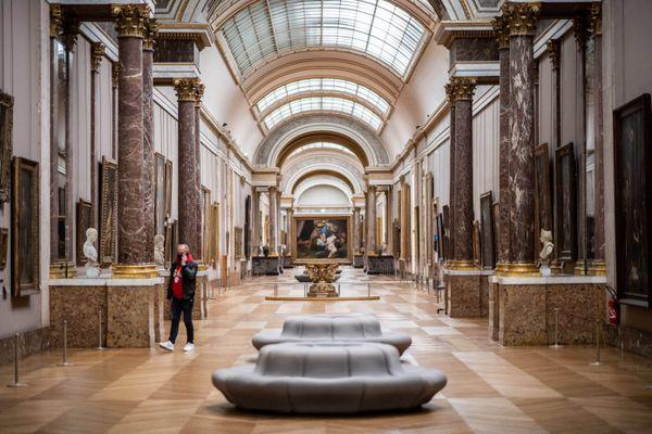 Durant la Seconde Guerre Mondiale, plusieurs milliers de peinture du Louvre ont été déplacées