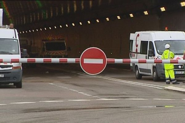 Besançon : e tunnel sous la Citadelle est fermé jusqu'à jeudi 20 heures