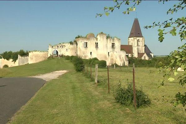 Le château de Piquigny