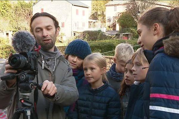 Les enfants de Saint-Sever-du-Moustier ont travaillé pendant toute une année scolaire sur cette web-série.