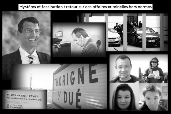 3 affaires : Dupont de Ligonnès, Leprince et Troadec