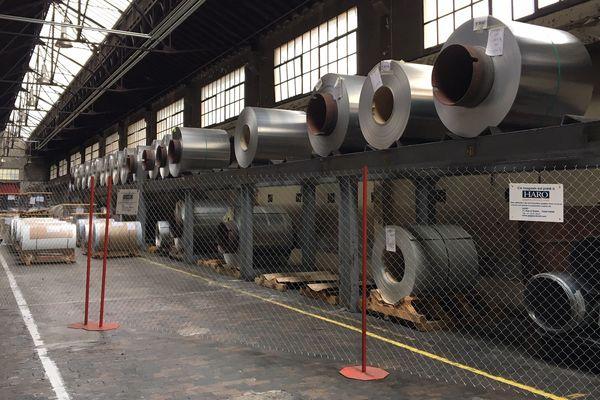 A Cran-Gevrier, l'usine est vide. Depuis le mois d'août 2019, les moteurs sont à l'arrêt.