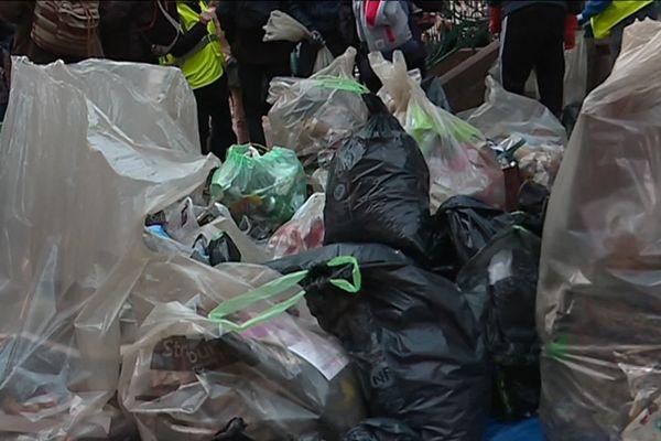 La collecte de déchets en 2018 avait réuni 250 personnes et permis de ramasser une grosse quantité de détritus