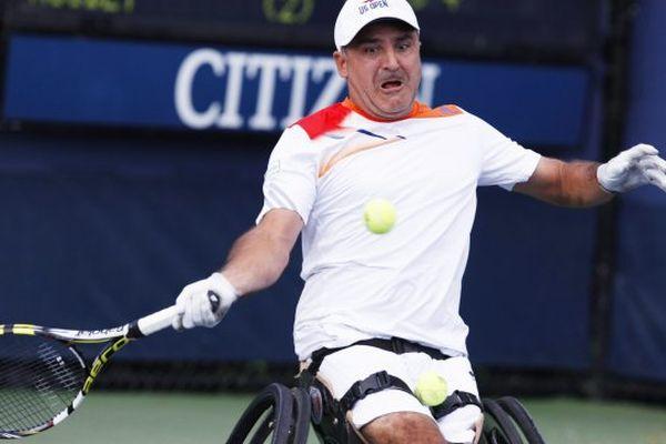 Stephane Houdet, nouveau numéro 1 mondial en tennis-fauteuil